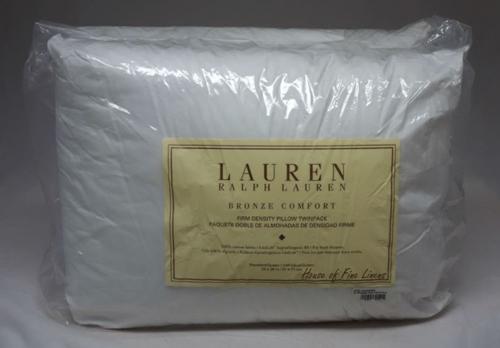 Ralph Lauren Firm Density Pillows