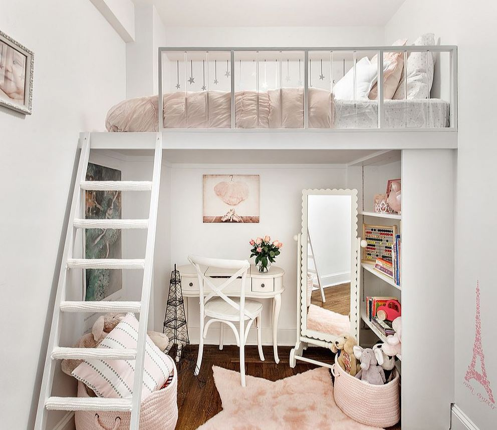 Creating a child friendly shabby chic bedroom