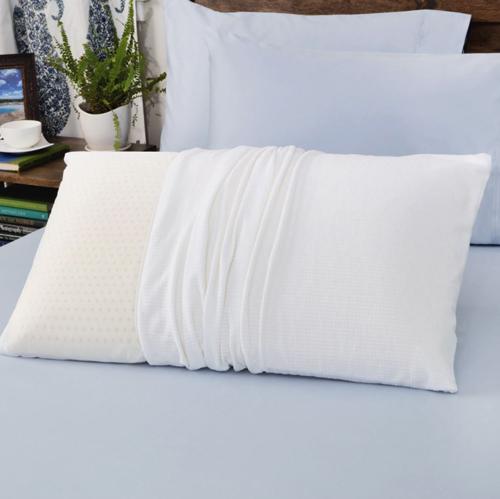 Soft density white down pillow